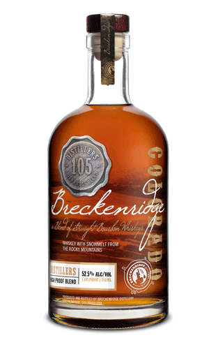 Breckendridge bourbon high proof blend