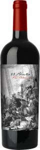 22 Pirates Red Blend Bottle